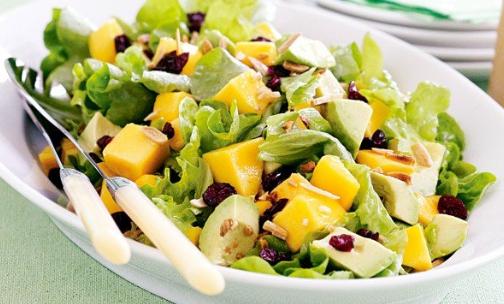 Salada de Chicória com Maçã